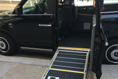Accessible-black-cab-with-ramp-out
