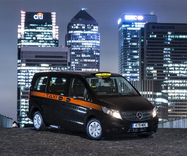 Black group cab taxi manchester