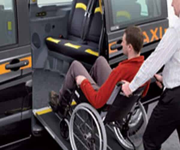 Wheelchair Accessible Taxi