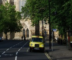 Manchester yellow taxi