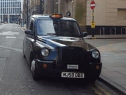 Manchester Black Cab Taxi