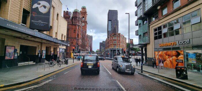 Hiring black cabs